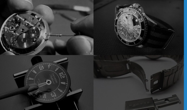 Glasses, clasps and dial repairs